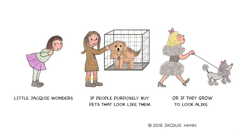 Little Jacquie on Pets by Jacquie Hann