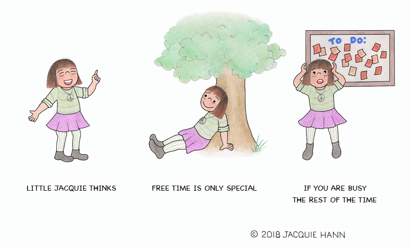 Little Jacquie on Free Time by Jacquie Hann