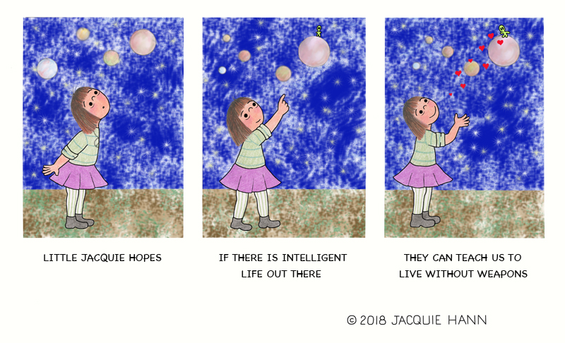 Little Jacquie on Intelligent Life by Jacquie Hann