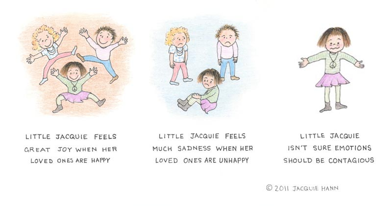 Little Jacquie on Emotions by Jacquie Hann