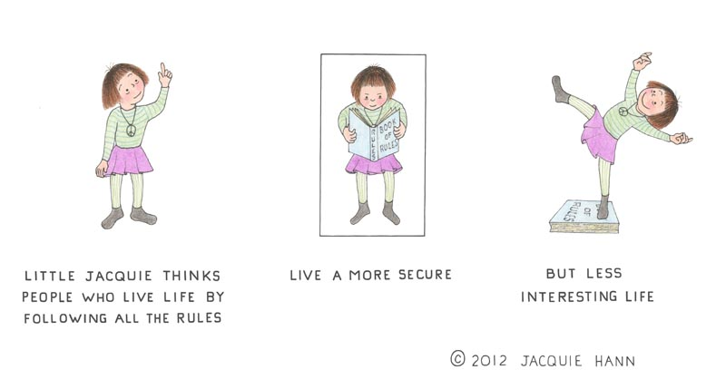 Little Jacquie on Rules by Jacquie Hann