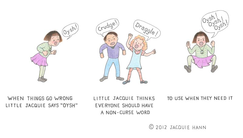 Little Jacquie on Cursing by Jacquie Hann