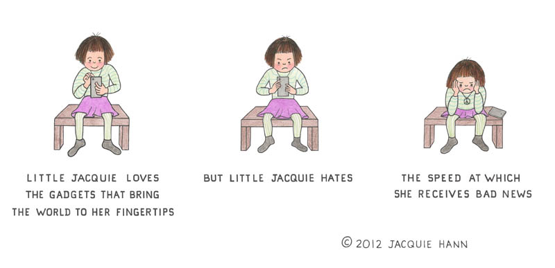 Little Jacquie on Gadgets