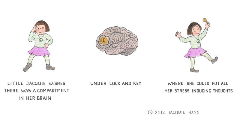 Little Jacquie's Brain by Jacquie Hann
