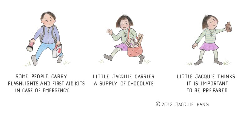 Little Jacquie on Emergencies by Jacquie Hann
