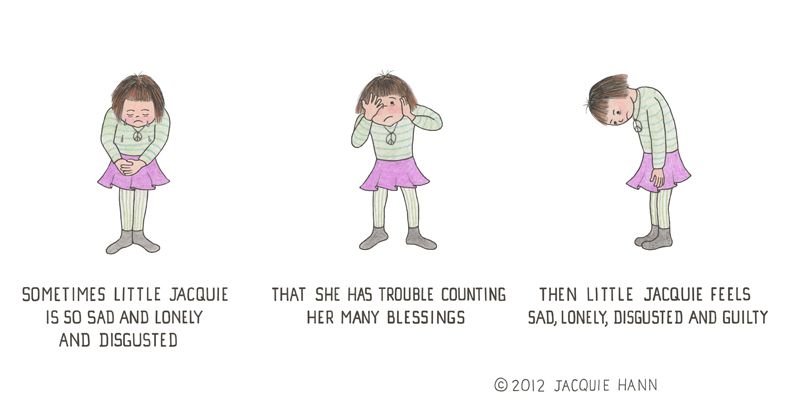 Disgusted Little Jacquie by  Jacquie Hann