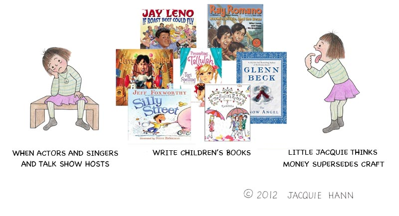 Little Jacquie on Celebrity Children's Books by Jacquie Hann