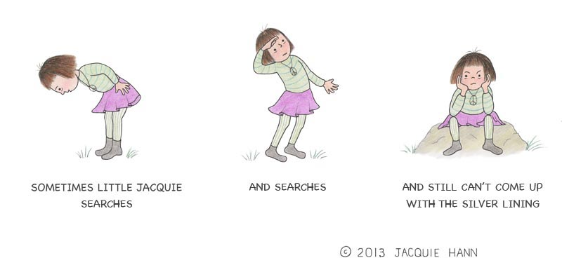 Little Jacquie on Searching by Jacquie Hann