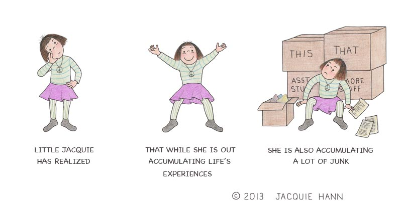Little Jacquie on Accumulation by Jacquie Hann