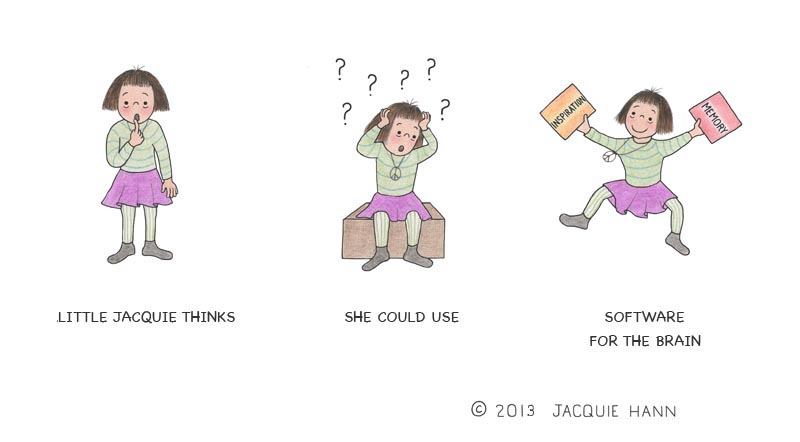 Little Jacquie on Software by Jacquie Hann