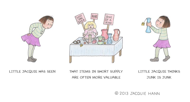 Little Jacquie on Valuation by Jacquie Hann