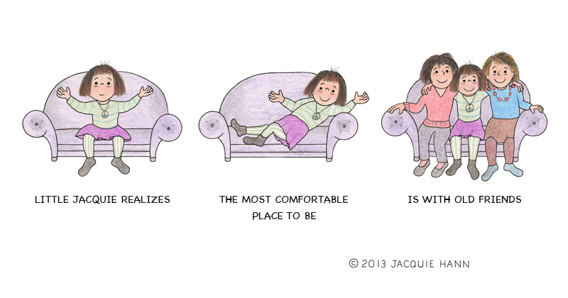 LittleJacquie on Comfort by Jacquie Hann