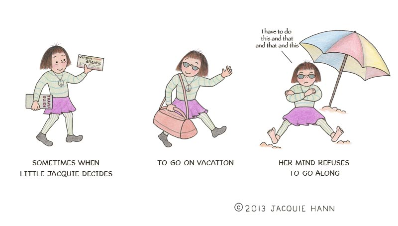 Little Jacquie on Vacation 2 by Jacquie Hann