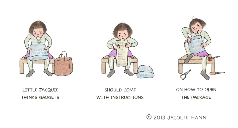Little Jacquie on Packaging by Jacquie Hann