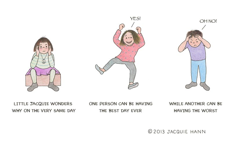 Little Jacquie on The Same Day by Jacquie Hann