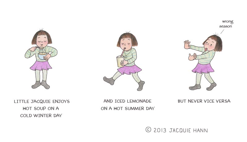 Little Jacquie on Seasonal Foods by Jacquie Hann