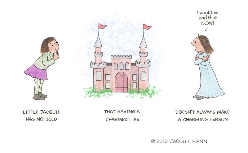 Little Jacquie on A Charmed Life by Jacquie Hann
