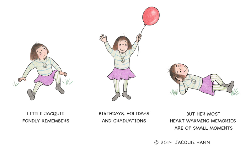 Little Jacquie on Memories by Jacquie Hann