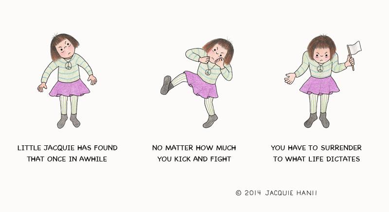 Little Jacquie on Surrender by Jacquie Hann