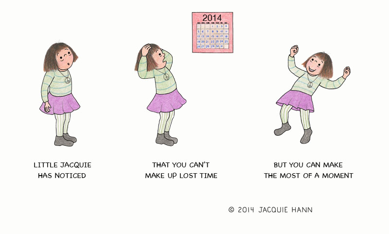 Little Jacquie on Lost Time by Jacquie Hann