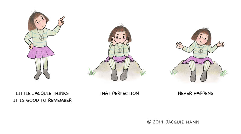 Little Jacquie on Perfection by Jacquie Hann