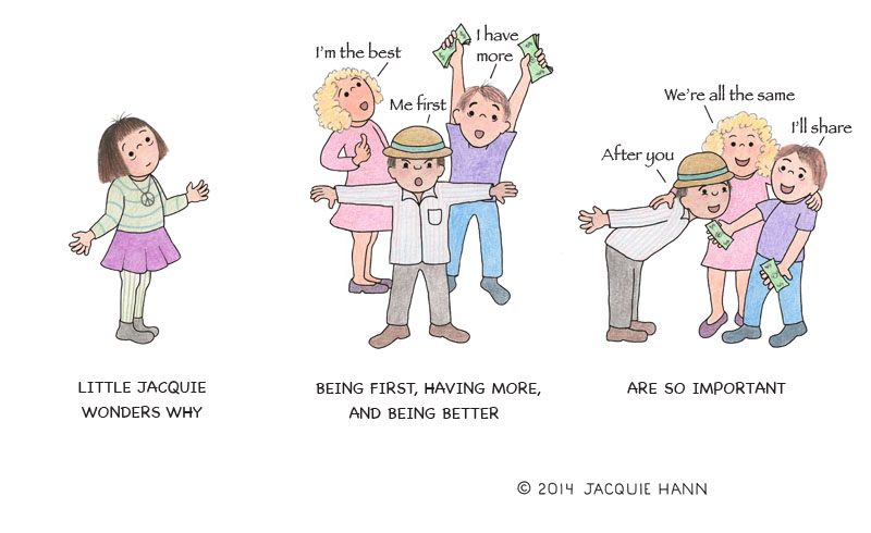 Little Jacquie on Being First by Jacquie Hann