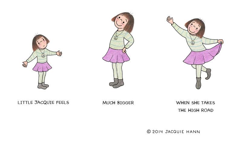 Little Jacquie on Bigness by Jacquie Hann