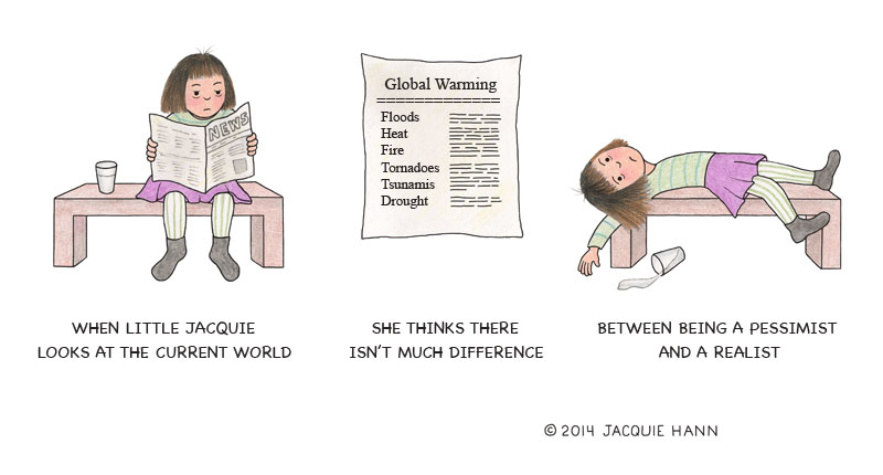 Little Jacquie on the Current World by Jacquie Hann