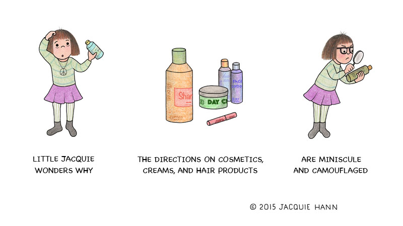 Little Jacquie on Cosmetics by Jacquie Hann