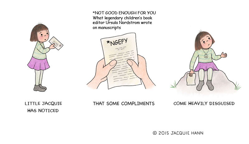 Little Jacquie on Compliments by Jacquie Hann