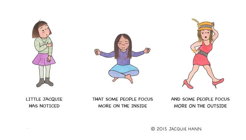 Little Jacquie on Focus by Jacquie Hann